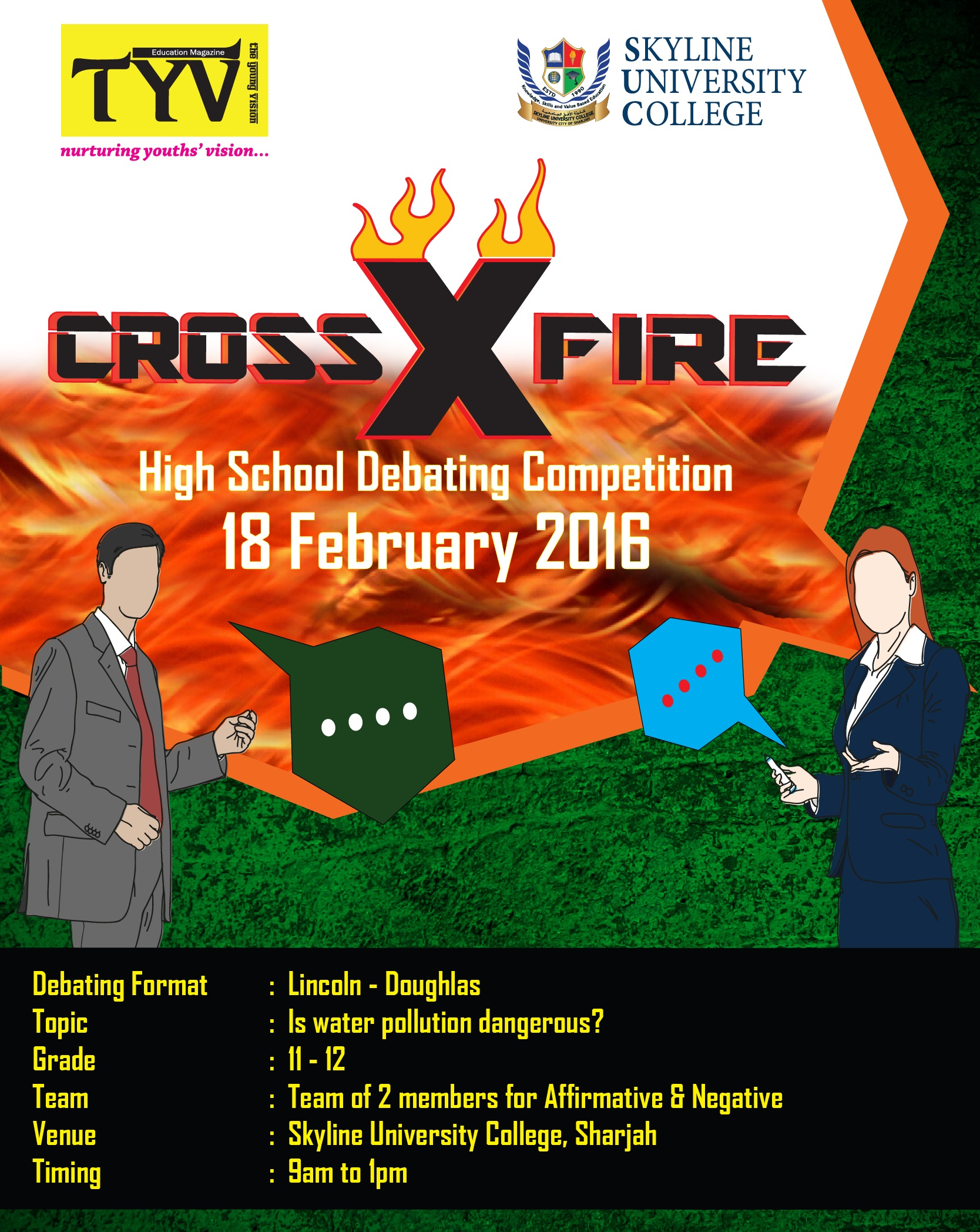 CROSSFIRE 2016 POSTER
