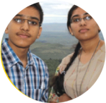 Sneha and Shreyank, Avid Readers