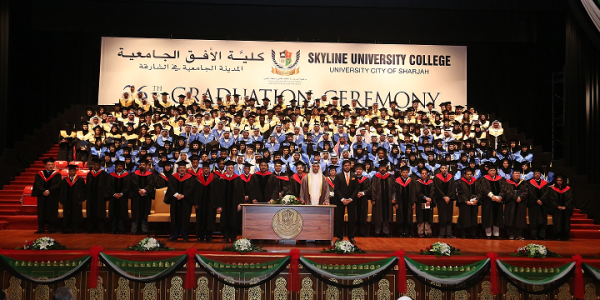 SUC graduates consisted of 30 nationalities at the 26th Graduation Ceremony