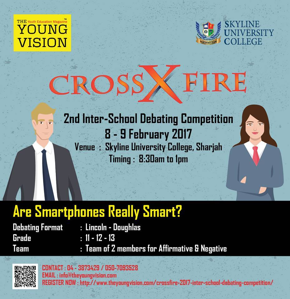 Crossfire 2017 – 2nd Inter-School Debating Competition for High School