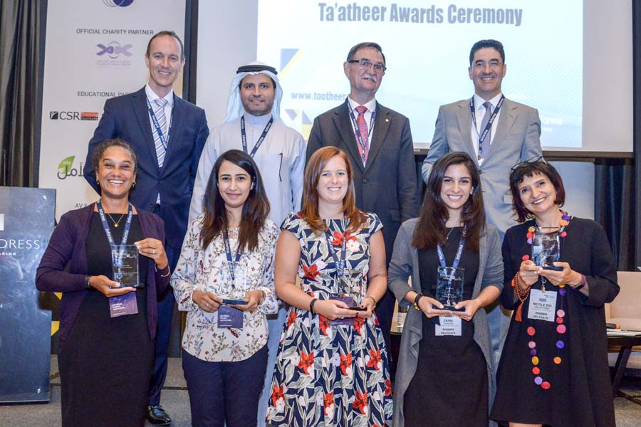 Financial Institutions Lead in CSR and Social Impact Initiatives to  Take Top Honours at the Ta'atheer Awards