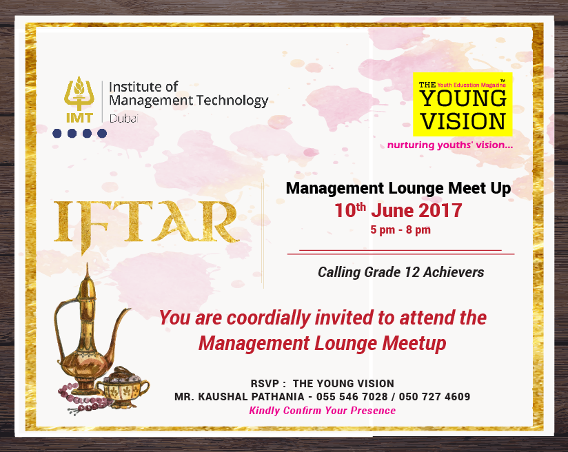 TYV - Management Lounge Meet Up 2017