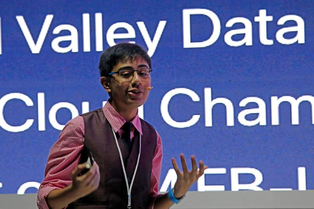 13-year-old Indian AI developer vows to train 100,000 coders