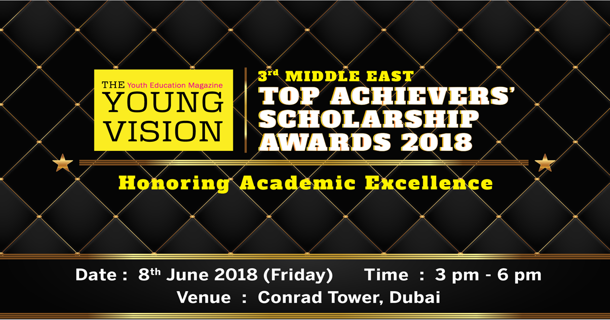 3rd Middle East Top Achievers' Scholarship Awards 2018