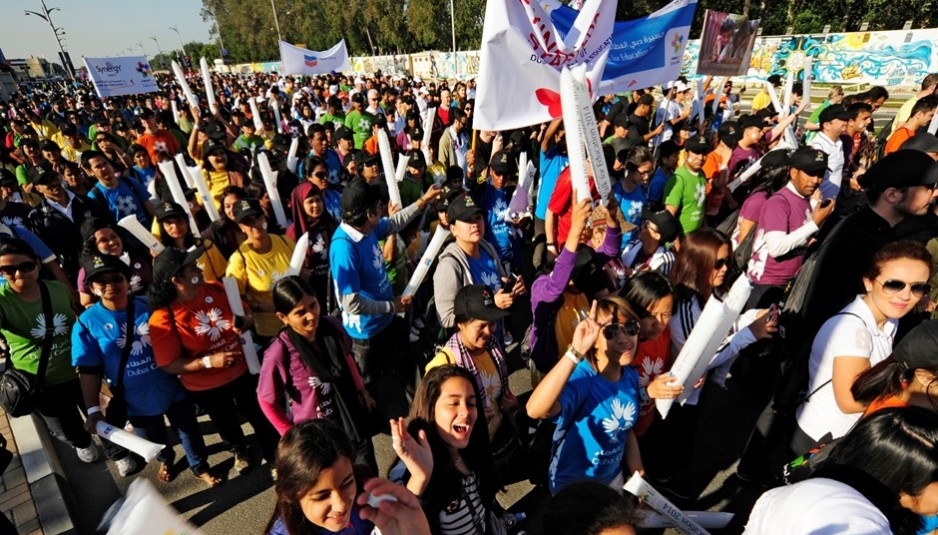 15,000 participate in Dubai Cares' annual 'Walk for Education' in support of children's right to education