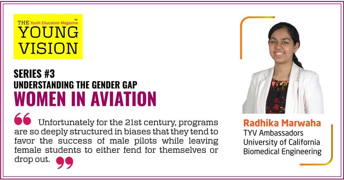 Series #3 – Understanding the Gender Gap – Women in Aviation