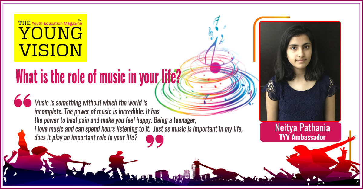 WHAT IS THE ROLE OF MUSIC IN YOUR LIFE???