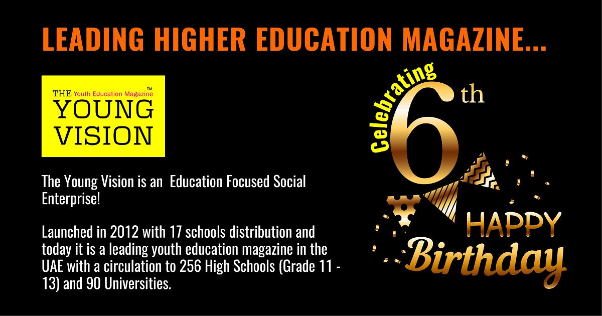 The Young Vision celebrates 6 years of service and dedication.
