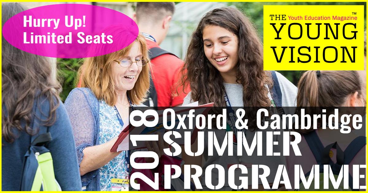 Oxford & Cambridge Summer Programme 2018
