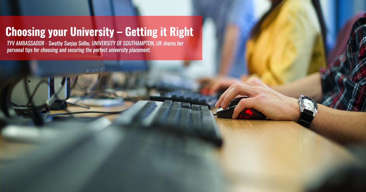 Choosing your University – Getting it Right