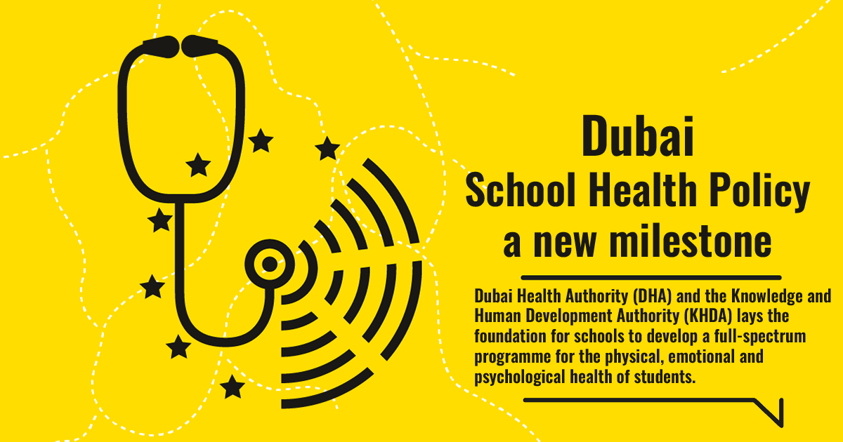 Dubai School Health Policy a new milestone