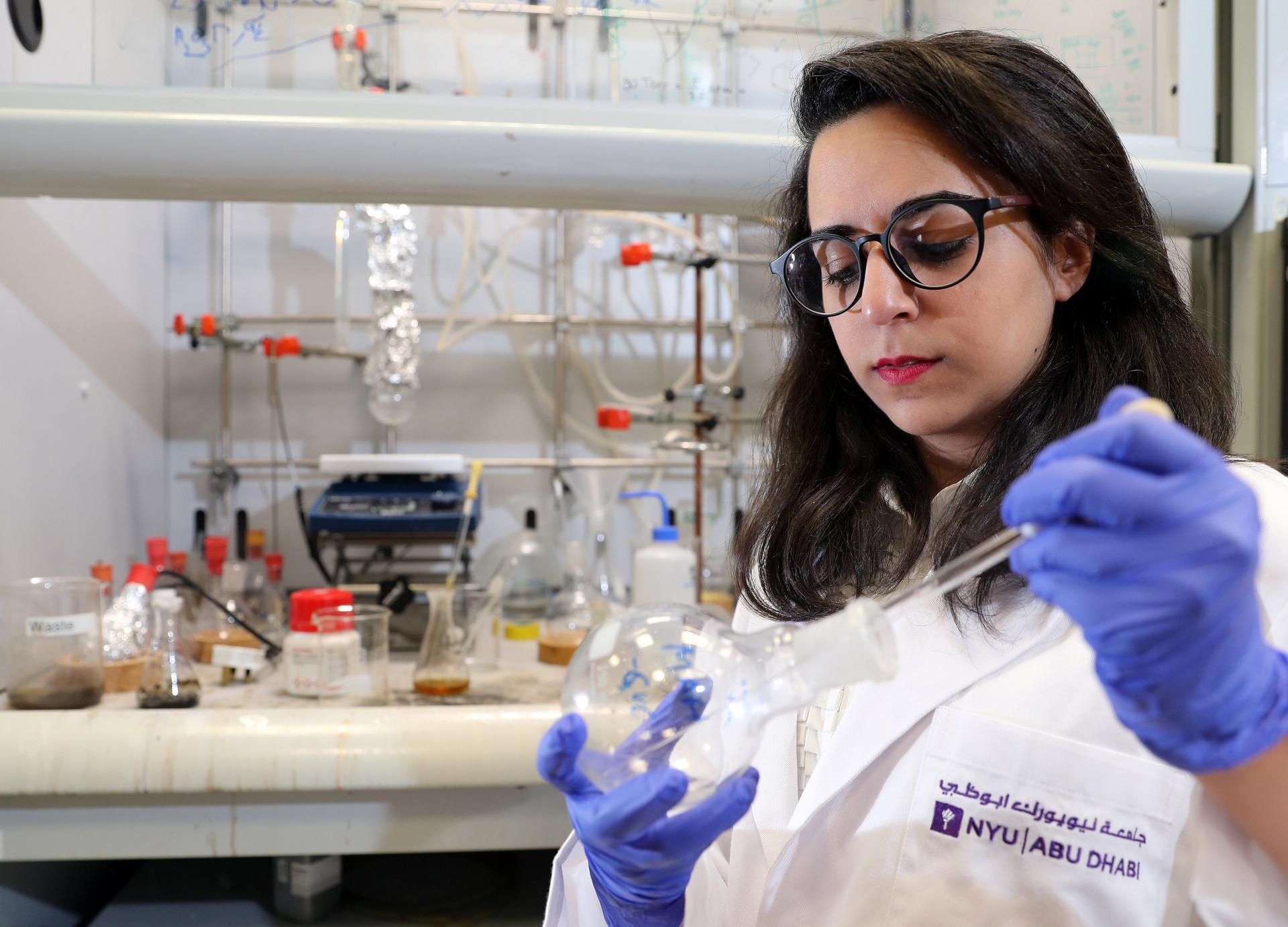 Abu Dhabi student developing heat-proof vaccine to help tackle disease across the globe