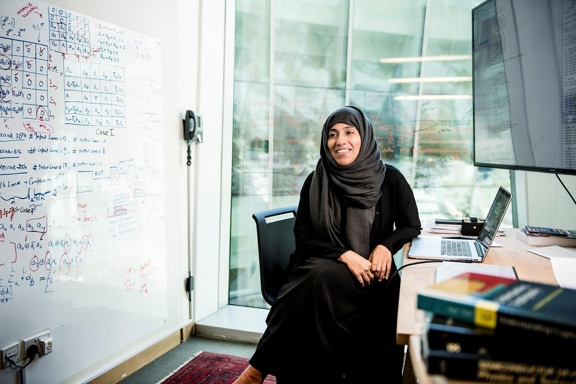 UAE women's rights champion finding a formula for gender equality in the sciences