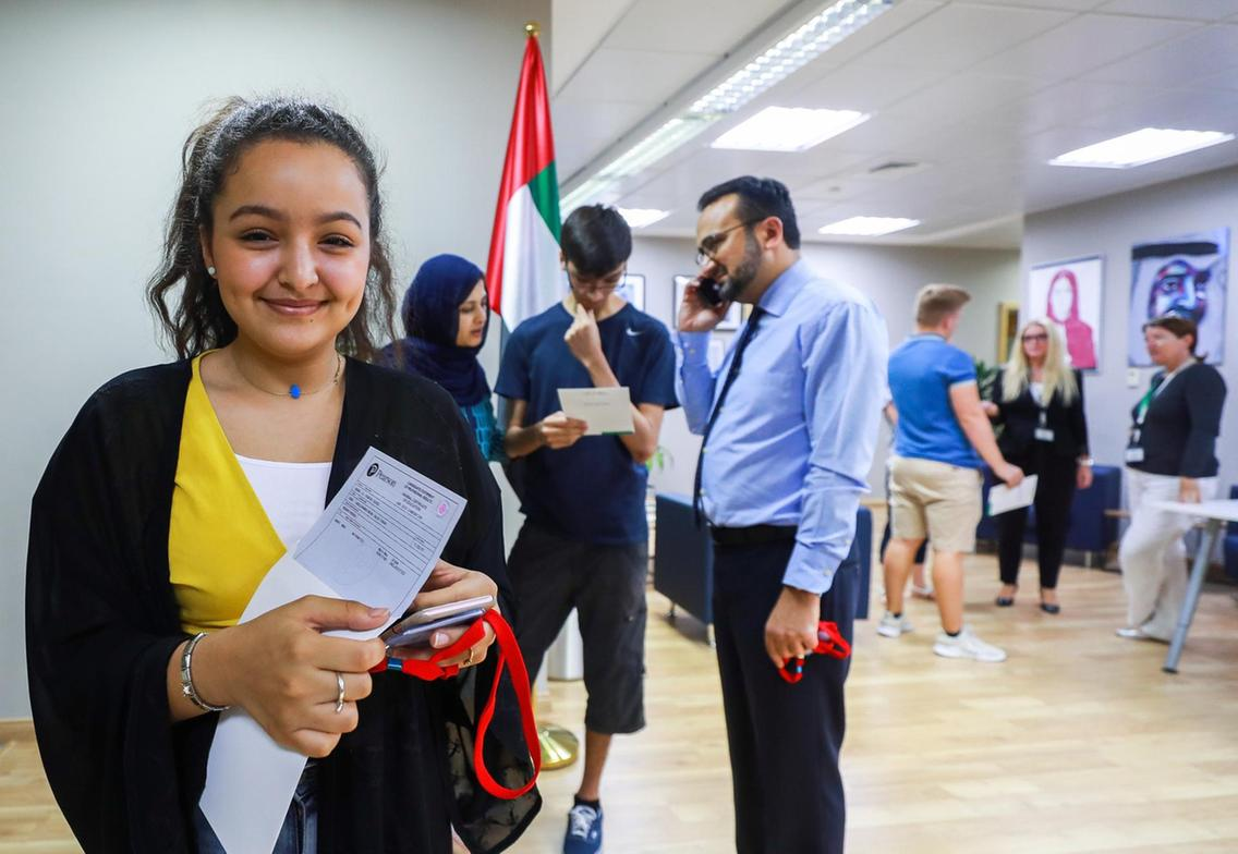 UAE pupils beat odds to get high scores in tough A-level exams