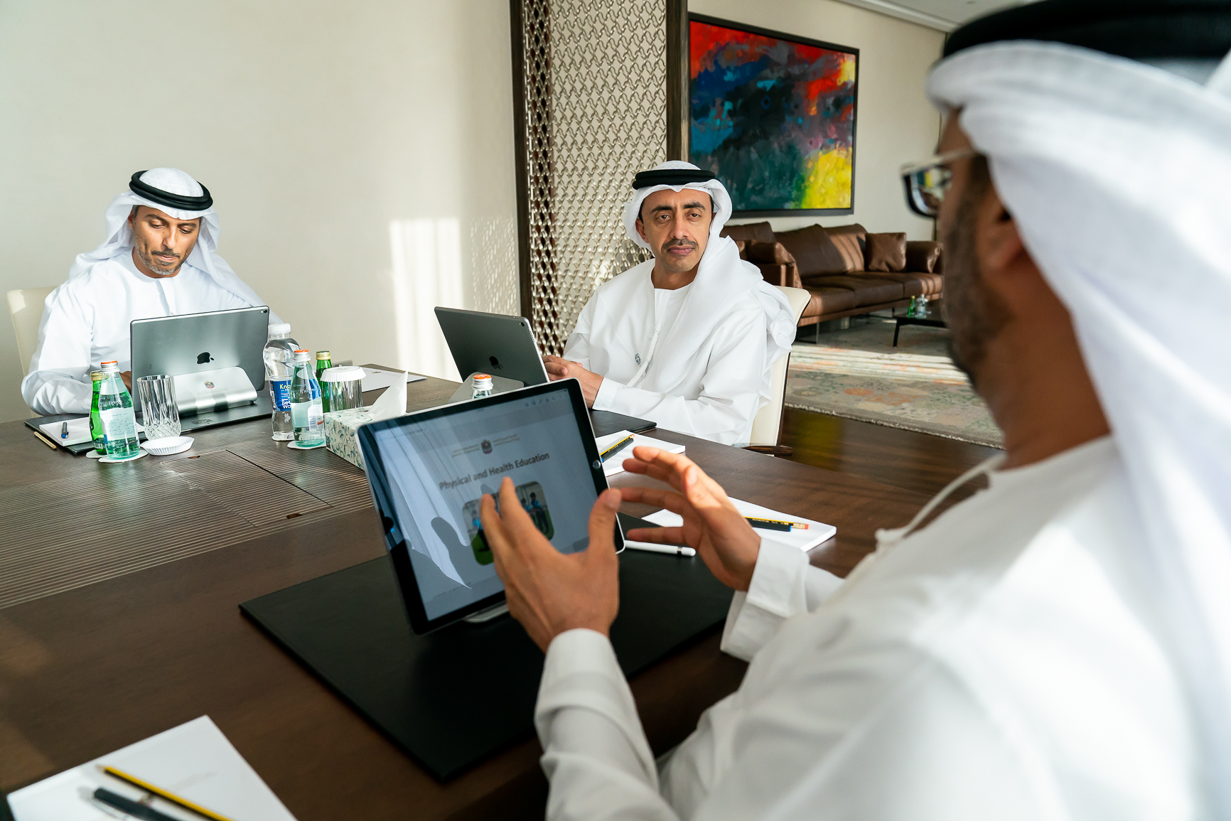 Abdullah bin Zayed chairs 27th meeting of Education and Human Resources Council