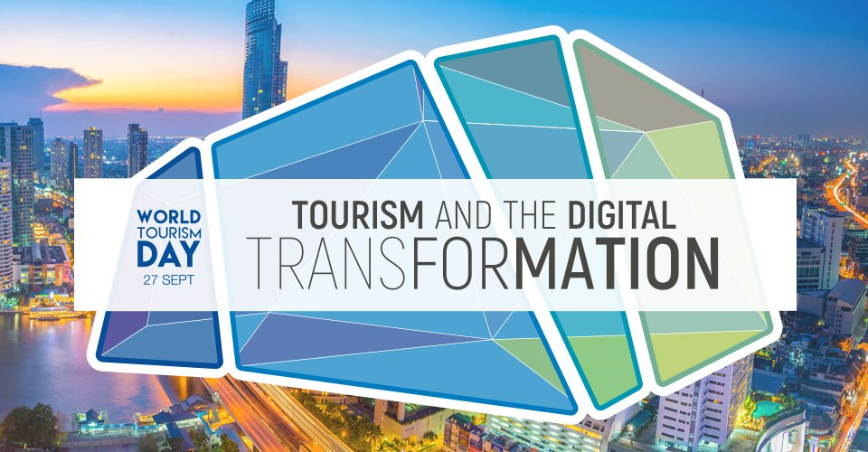 """Today (27 SEP) is celebrated as the milestone of global tourism and this year's theme is """"Tourism and the Digital Transformation"""". Let's celebrate WTD on the theme tourism activity a phenomenon in U.A.E and World. #WTD2018 #WorldTourismDay"""