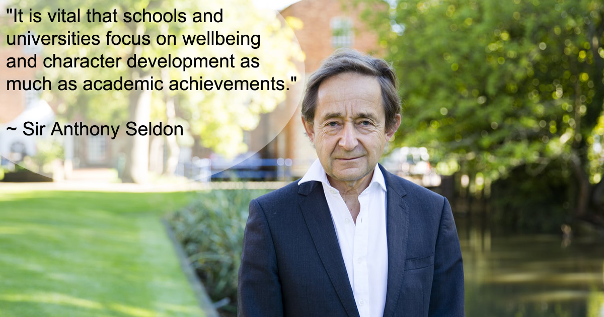 Sir Anthony Seldon: Schools are not preparing pupils for 21st century